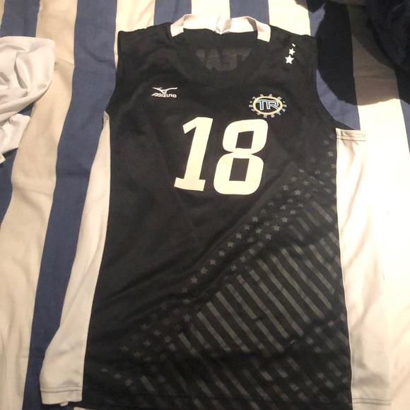 mizuno volleyball team jerseys 70s